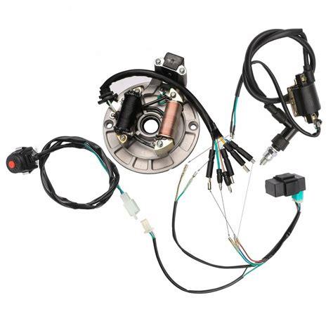 lifan stator kick cc cc complete electrics wire