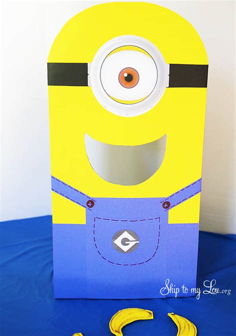 minion overall template free printables for minion toss skip to my lou