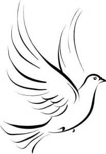Holy Spirit Dove Outline by Dove Stencil Stencils Stencils Dove Tattoos And Tattoos And