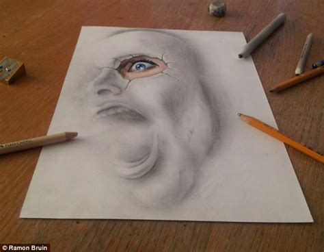 3d draw the pictures that draw you in amazing 3d sketches that look as if objects are flying sailing
