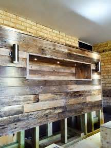 Wood Pallet Bed Frame With Lights Diy Pallet Bed With Headboard And Lights