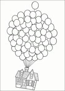 up coloring pages 25 best ideas about disney up house on disney