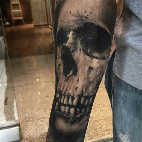 skull sleeve tattoos sleeve skull best ideas gallery
