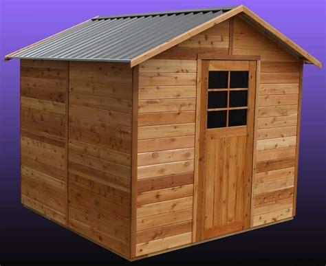 Cedar Shed Cedar Shed Glendale 8x8 S3031 2 089 00 Landera