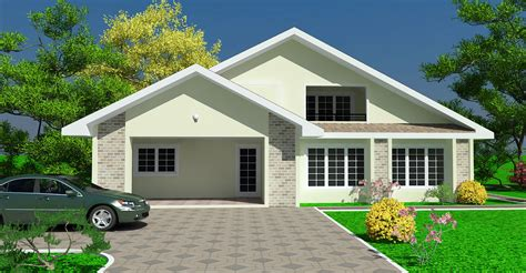 Home Designs Plans by Ghana House Plans Padi House Plan