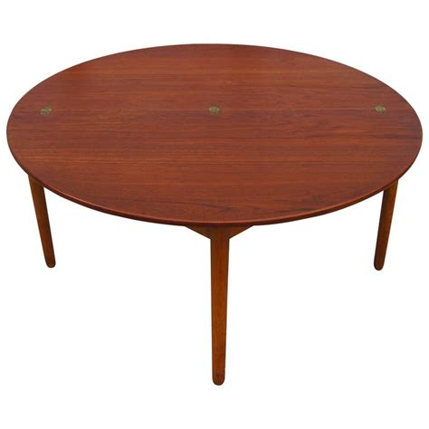 Teak Folding Coffee Table By Poul Volther For Frem Rojle Folding Coffee Tables For Sale