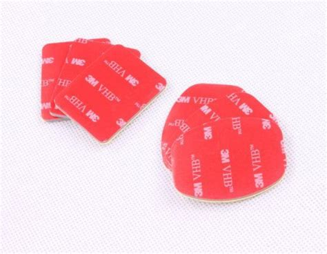 Gantungan Serba Guna Adhesive 6 Pcs f05656 6 pcs 3m vhb adhesive sticky 3 concave 3 flat sticker for gopro 1 2 3 helmet mount