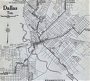 map to dallas cities historical maps perry casta 241 eda map