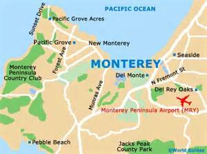 california map monterey monterey history facts and timeline monterey california