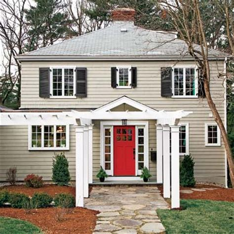 front door pergola exterior after big curb appeal boost toh tv s auburndale house before and after this house
