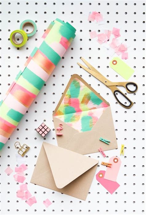 how to make your own envelope liners celebrations blog make your own quot fancy quot envelope liners with wrapping paper