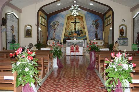 simple church wedding ideas philippines flower arrangements metro park hotel cebu city