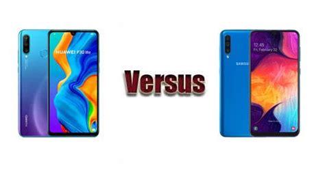 Huawei 4 Vs Samsung Galaxy A50 by Huawei P30 Lite Vs Samsung Galaxy A50 Comparaci 243 N De Caracter 237 Sticas