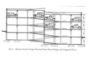 parking garage ramp plan plans home portfolio msfa
