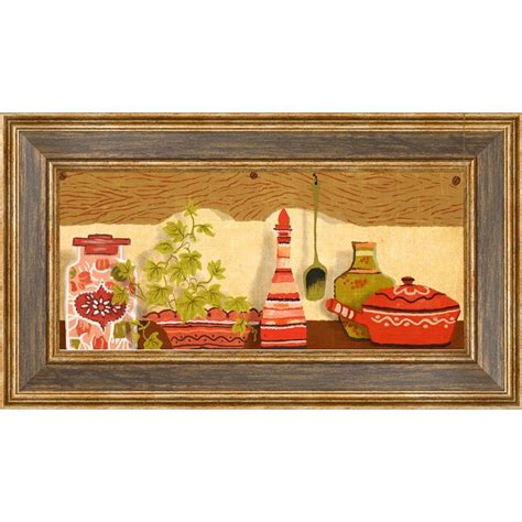 18 5 in x 10 5 in quot kitchen shelf b quot framed wall 1