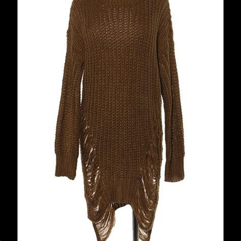 Ripped Sweater sweater ripped dress sweater tunic