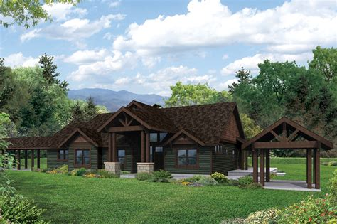 lodge house plans lodge style house plans cedar height 30 975 associated