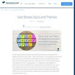 difference between agile themes epics and user stories blog articles pearltrees