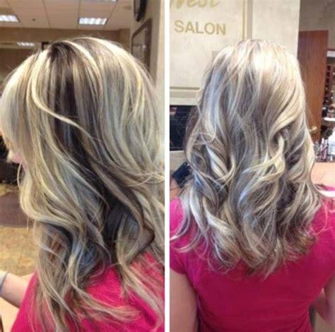 curly hair with lowlights highlights with peekaboo lowlights curly hair
