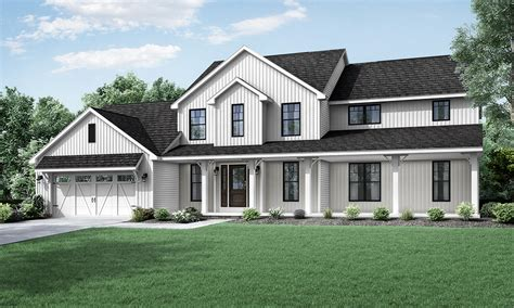 two story farmhouse wayne homes introduces new two story floorplan the columbia