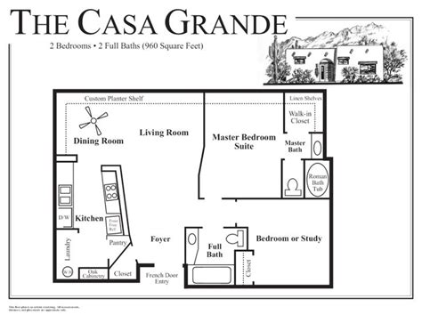 House Plans With Casita | adobe house floor plans small adobe house plans http