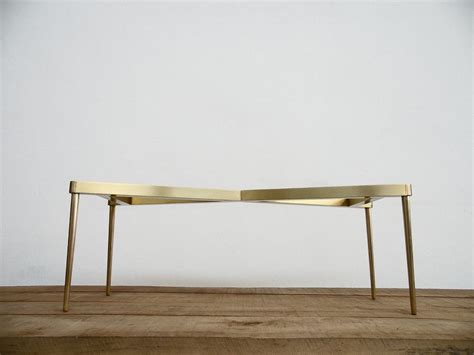 diy brass table legs brass base for marble tops modern design and so chic balasagun