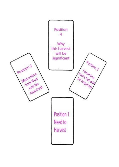 spread layout pinterest spring or new beginning tarot spread layout reading