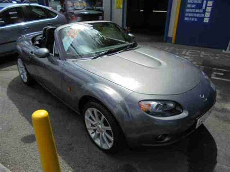 electronic stability control 2007 mazda miata mx 5 head up display mazda 2007 07 mx5 2 0 sport roadster coupe in grey stunning car for sale