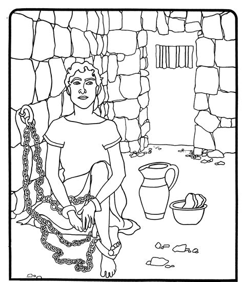 joseph coloring pages free coloring pages of joseph interprets