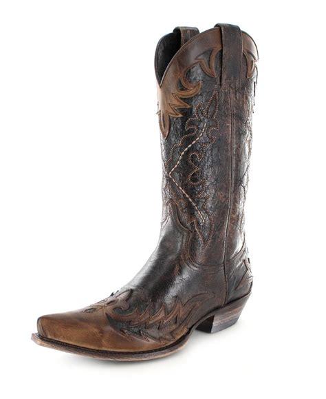 sendra boots sendra boots 9669 camello western boot brown fashion boots