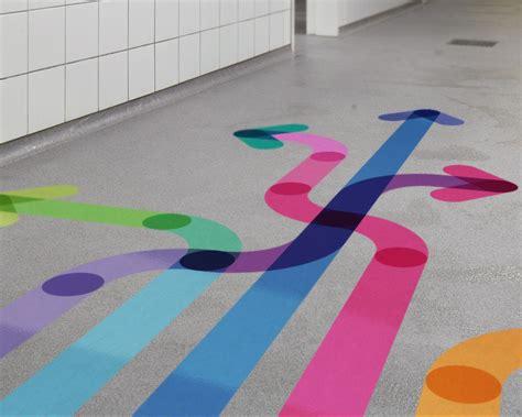 Floor Stickers floor sticker printing retail branding way finding