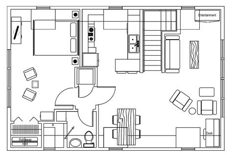 2d layout furniture floor plan decobizz