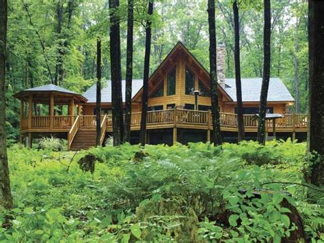 Country Style Home Plans With Wrap Around Porches My Dream House Is An A Frame Log Cabin In The Woods And I