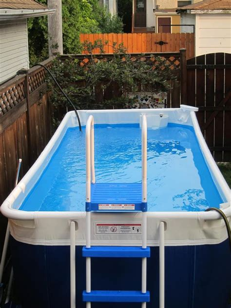 Backyard Pool Exercises by Above Ground Pool Outdoor Stuff Portable