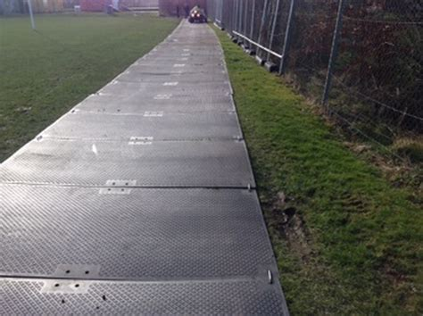 Ground Protection Mats For Sale by Curlew Secondhand Marquees Temporary Road Or Track Way