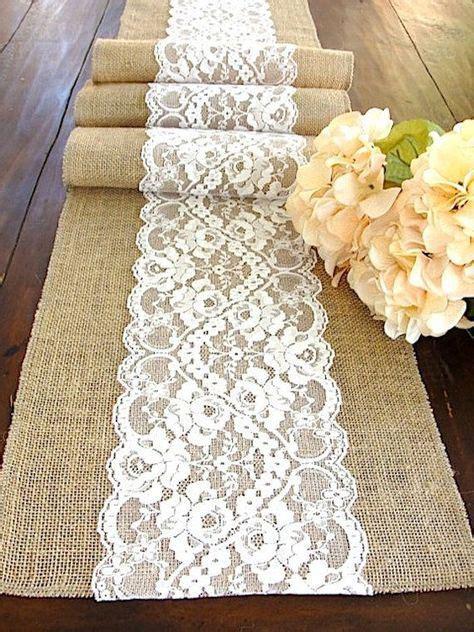 Rustikale Tischdecken 714 by Foto Via Etsy S Wedding