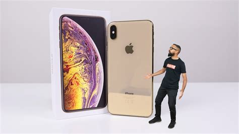 iphone xs max unboxing gold gb youtube