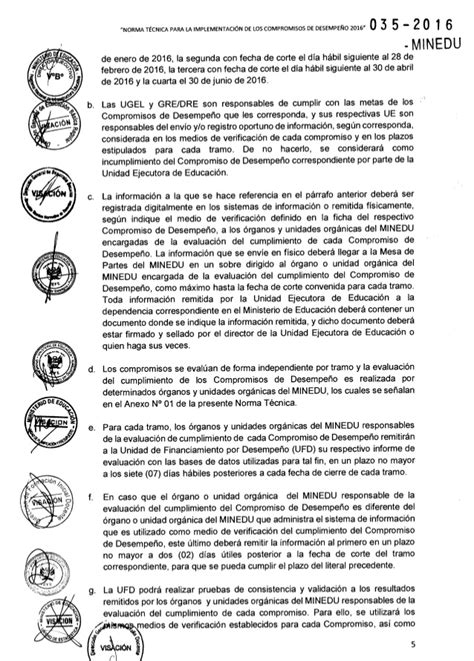 norma tcnica para mantenimiento de locales escolares 2016 norma tecnica compromisos de desempe 209 o 2016