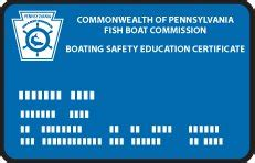 pa boating safety certificate pennsylvania boating license and online courses safe boater