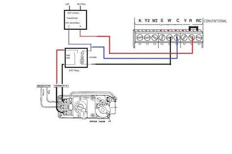 honeywell thermostat wiring diagram 3 wire honeywell