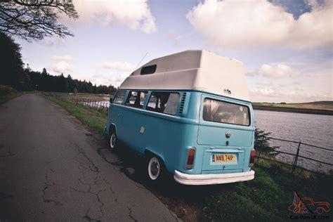 volkswagen hippie blue surf blue 1976 volkswagen hippie cer just 5000