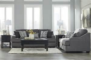 gilmer gunmetal sofa loveseat 65603 38 35 living