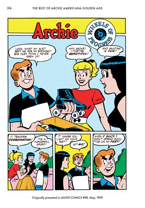 the best of archie americana vol 1 golden age the best of archie comics books bestofarchieamericana v1 goldenage 376 graphic policy