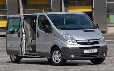 opel minivan opel vivaro van for all transport needs box autos