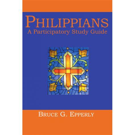 attitude a study in philippians books philippians a participatory study guide