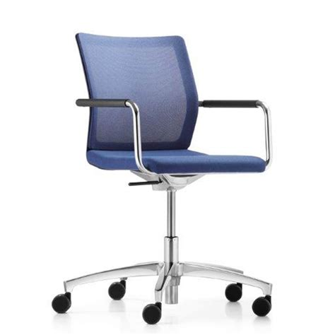 Stilo Conference Swivel Chair Mesh By Dauphin Business Mesh Swivel Chair