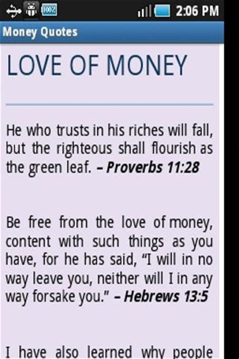 Bible Quotes About The Of Money by Money Quotes From Bible Verses Android Apps On Play