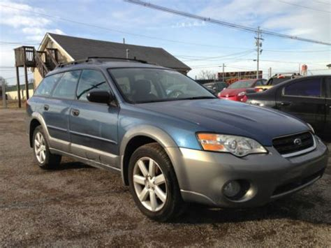 wrecked subaru outback sell used 2006 subaru legacy outback salvage title