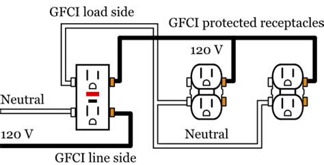 gfci to gfci wiring diagram 27 wiring diagram images