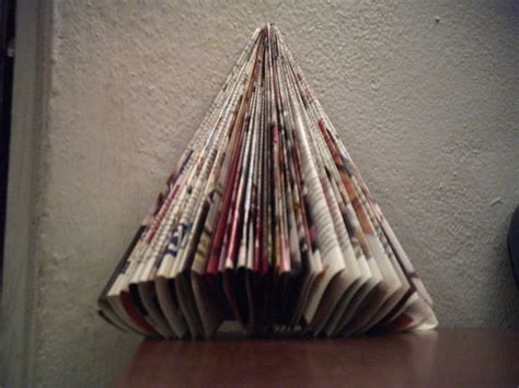 christmas tree from a magazine